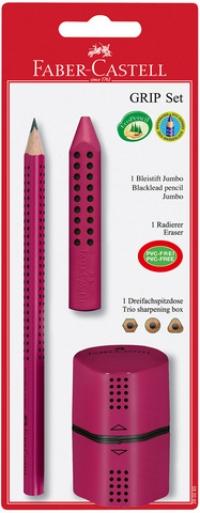Bleistift FABER-CASTELL Jumbo Grip-Set