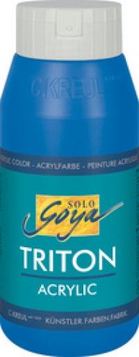 Acrylfarbe SOLO Goya TRITON, weiß, 750 ml
